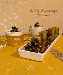 Békés Boldog Karácsonyt Kívánunk Nektek! ❤️🎄🥂  #karácsony #szeretet#meghittpillanatok #zerowaste #mik_gasztro #instakozosseg #instahungary #karácsony2020 #köszönjüknektek