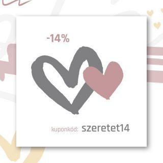 .⠀⠀⠀⠀⠀⠀⠀⠀⠀ #meglepetés⠀⠀⠀⠀⠀⠀⠀⠀⠀ ⠀⠀⠀⠀⠀⠀⠀⠀⠀ -14% kedvezmény M I N D E N termékünkre. 💛⠀⠀⠀⠀⠀⠀⠀⠀⠀ ⠀⠀⠀⠀⠀⠀⠀⠀⠀ Használd a szeretet14 kuponkódot 2021.02.09. éjfélig.⠀⠀⠀⠀⠀⠀⠀⠀⠀ ⠀⠀⠀⠀⠀⠀⠀⠀⠀ A kedvezményt a végösszegből vonjuk le, így bármit tehetsz a kosaradba, amit -14% kedvezménnyel tudsz megvásárolni.⠀⠀⠀⠀⠀⠀⠀⠀⠀ ⠀⠀⠀⠀⠀⠀⠀⠀⠀ Nézz szét a www.lote.hu webshopban, hátha Te is találsz valamit amivel meglepheted magad vagy párod.⠀⠀⠀⠀⠀⠀⠀⠀⠀ ⠀⠀⠀⠀⠀⠀⠀⠀⠀ #szeretet #akció #kedvezmény #kuponkód #villámakció #webshop #válogass #kedvedre #végösszeg #loté #műanyagmentes #hazaitermék #hazaitvegyél #vállalkozás #zerowaste #mik #anyavagyok #instamami #instahun #mik_hungary #planoly⠀⠀⠀⠀⠀⠀⠀⠀⠀ ⠀⠀⠀⠀⠀⠀⠀⠀⠀ Köszönöm ha megosztod barátaiddal, barátnőiddel ezt a villámakciót! 💛