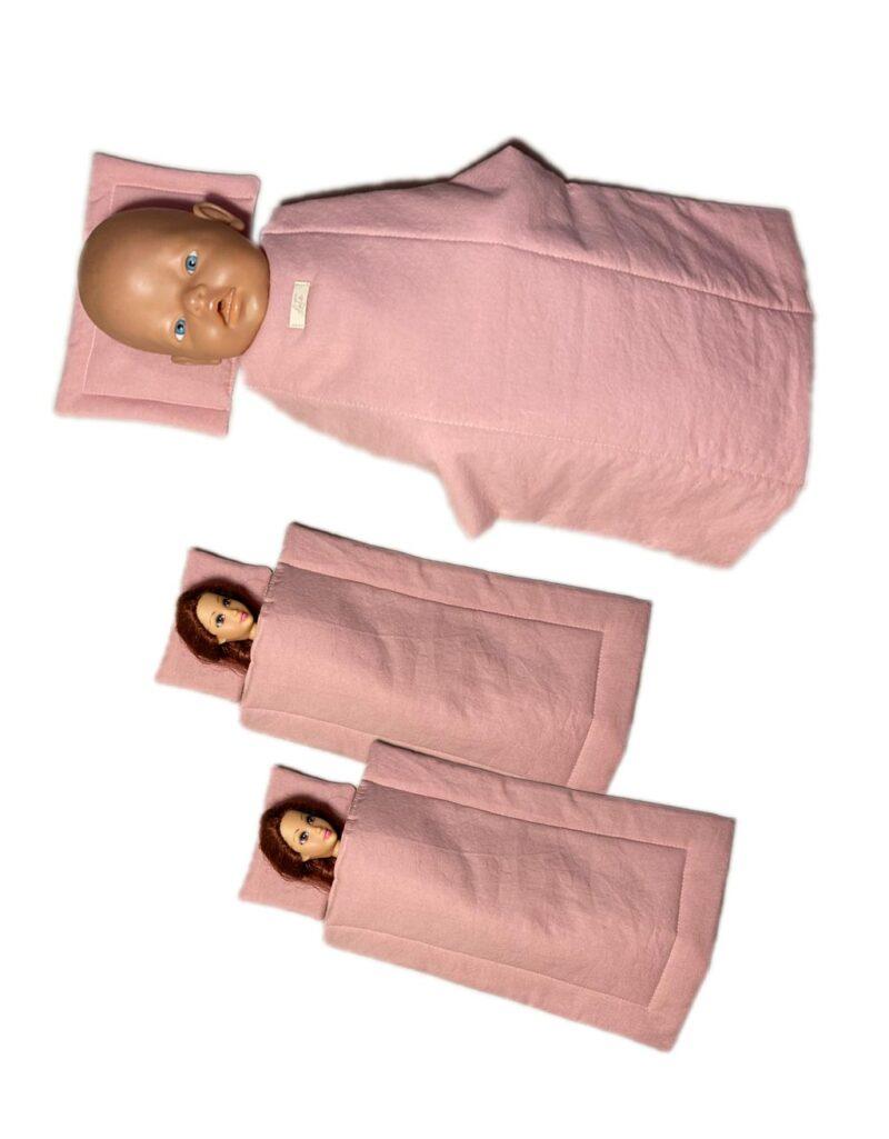 Loté - Játékbaba ágynemű szett