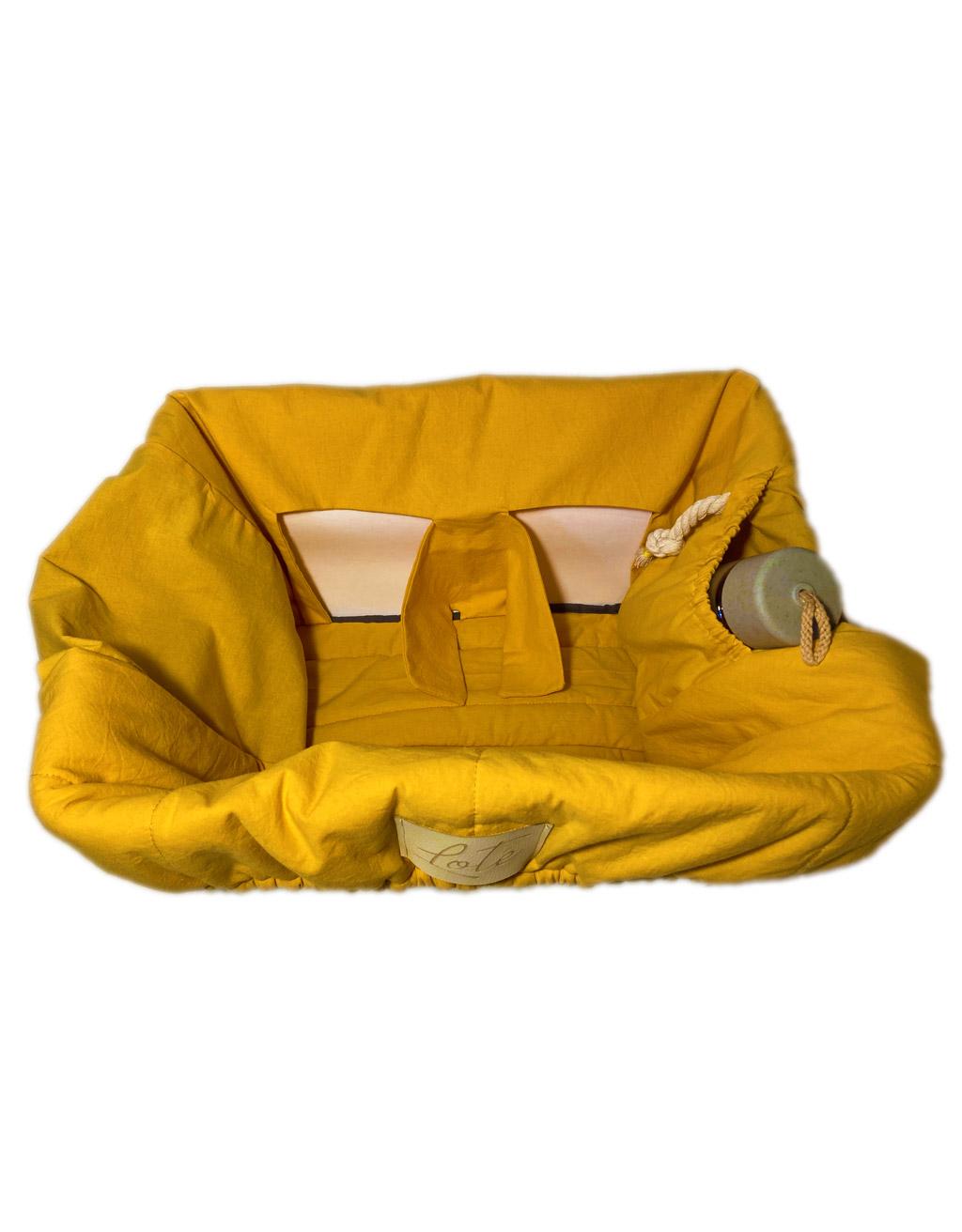 Loté - Bevásárlókocsi huzat - Belső zseb a kincseknek, kulacsnak